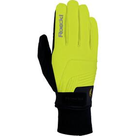 Roeckl Rebelva Handschuhe neongelb